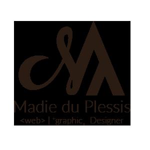 Madie du Plessis Web | Graphic Design